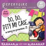 Do, Do Pity My Case - Rhythm & Improvisation Practice Activities