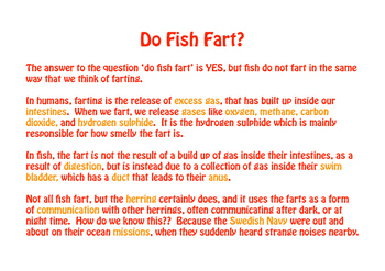 Do Fish Fart?