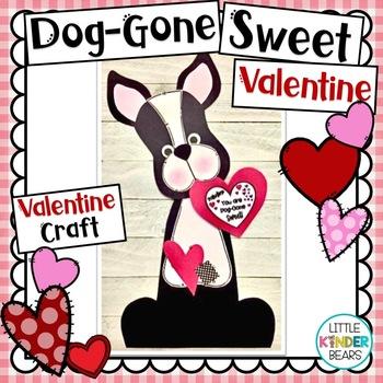 Dog-Gone Sweet Valentine Puppy Craft: February Craft