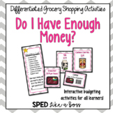 Do I Have Enough Money? Differentiated Grocery Shopping Activities