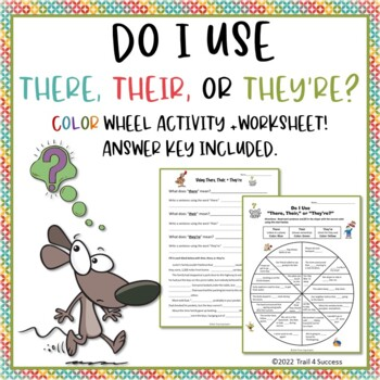There, Their, or They're? Homophones PowerPoint Lesson + W