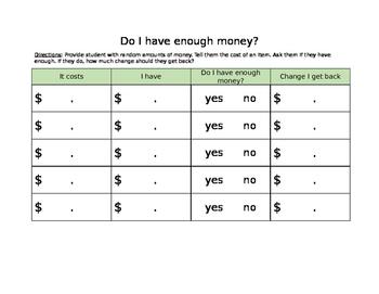 Do I have enough money?