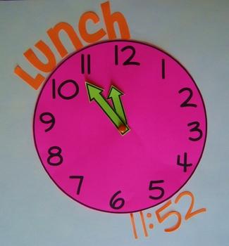 Clock Template: Do It All Clock