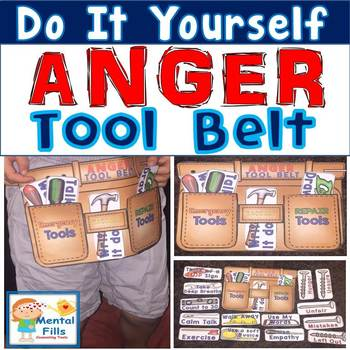 Do It Yourself ANGER TOOL BELT craft for your coping skills tool box
