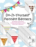 Do-It-Yourself Pennant Banners: 157 Pennant Flags to Create A Classroom Banner