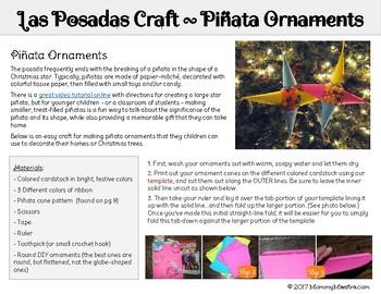 Do-It-Yourself Posada Kit - Celebrate Las Posadas!