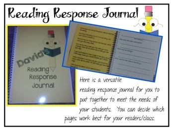 Do It Yourself Reading Response Journal