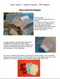 EARTH DAY PROJECTS - Do It Yourself - Trash to Treasure - Set #3