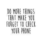 Do More Things