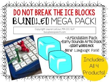Do Not Break the Ice Blocks ~ BUNDLE