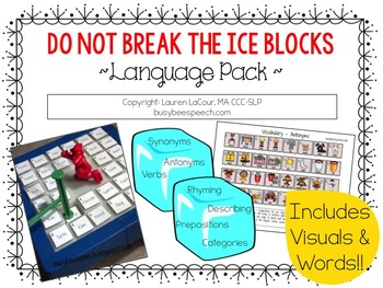 Do Not Break the Ice Blocks ~ Language Pack