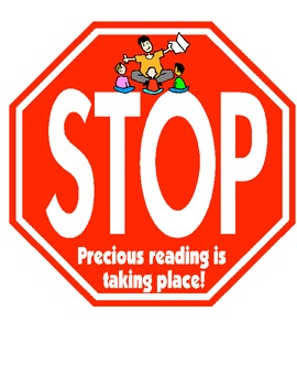 Guided Reading- Do Not Disturb Stop Signs