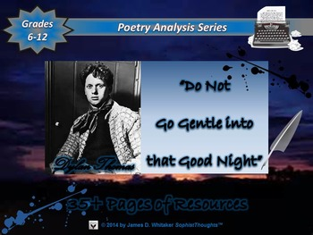 Do Not Go Gentle into that Good Night by Dylan Thomas Poem