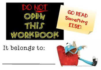 Do Not Open This Book Workbook