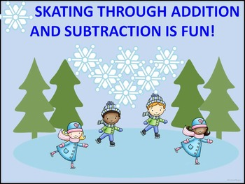Addition and Subtraction: First Grade (Ice Skating)