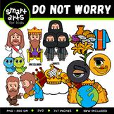Do Not Worry Clip Art