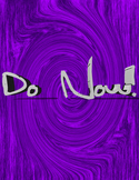 Do Now!