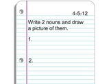 Do Now Activities for Primary students Set 4 of 5: Mimio