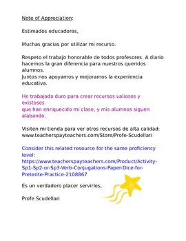 Do Now for All Levels - Piccionario: Partner Activity for Vocabulary Acquisition