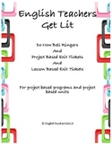Do Now Bell Ringers and Exit Tickets
