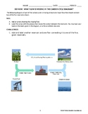 Do-Now quiz: Where's the missing flow in the carbon cycle diagram?
