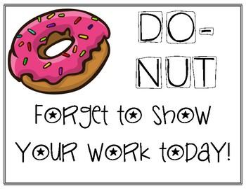Do-Nut Testing Motivation