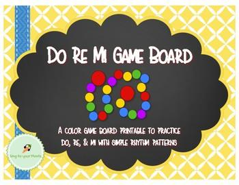 Do Re Mi Game Board