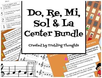 Do, Re, Mi, Sol & La Center Bundle