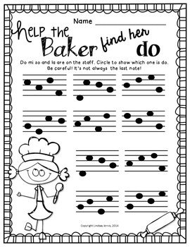 Music Worksheets for Do {Ready Set Print!}