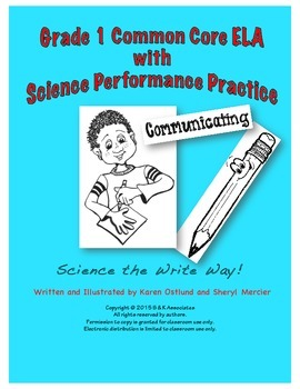 Science the Write Way Grade 1 Communicating Study of the Hand