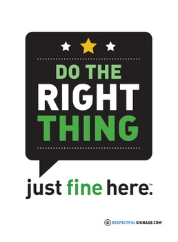 Do The Right Thing - Decal