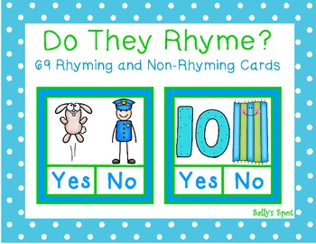 Do They Rhyme?    69 Rhyming & Non-Rhyming Cards