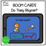 Do They Rhyme BOOM CARDS™ Distance Learning