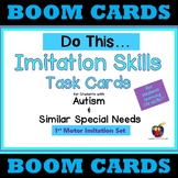 Do This... Imitation Skills BOOM Cards - Motor Imitation (