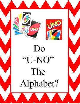 """Do """"U-NO"""" the Alphabet Sign"""