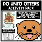 Do Unto Otters Activity Pack