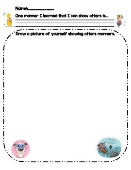 Do Unto Otters- Activity Worksheet
