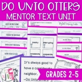 Do Unto Otters - Back to School Lessons for grades 2-5