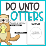 Do Unto Otters | A Lesson on Manners & Respect | Book Extension