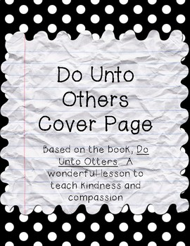 Do Unto Otters booklet cover