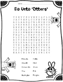 Do Unto Otters word search