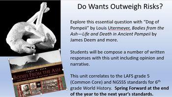 Do Wants Outweigh Risks--An Interdisciplinary Unit