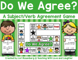 Subject-Verb Agreement Center Game