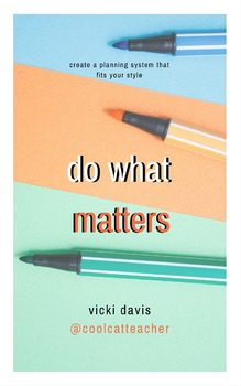 Do What Matters DIY Productivity System - 108 Templates MEGA Pack