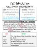 Do What?  Pulling Apart a Prompt
