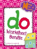 Do Worksheet Bundle