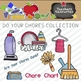 Do You Chores Clipart Collection || Commercial Use Allowed