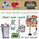 Do You Chores Clipart Collection    Commercial Use Allowed