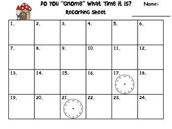 Time & Elapsed Time