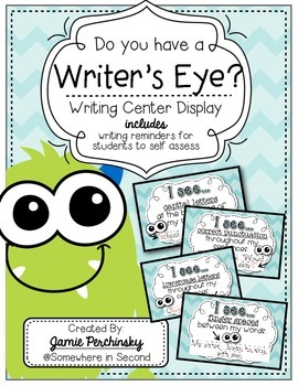 """Do You Have A Writer's Eye?"" cards"